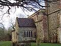 Church Porch, St James Church, Berwick St James - geograph.org.uk - 333520.jpg