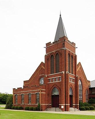 Church Street Historic District (Batesburg-Leesville, South Carolina) - Church Street Historic District, August 2012
