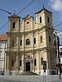 Church of saints John from Matha and Felix frorm Valois in Bratislava, Bratislava I District.jpg