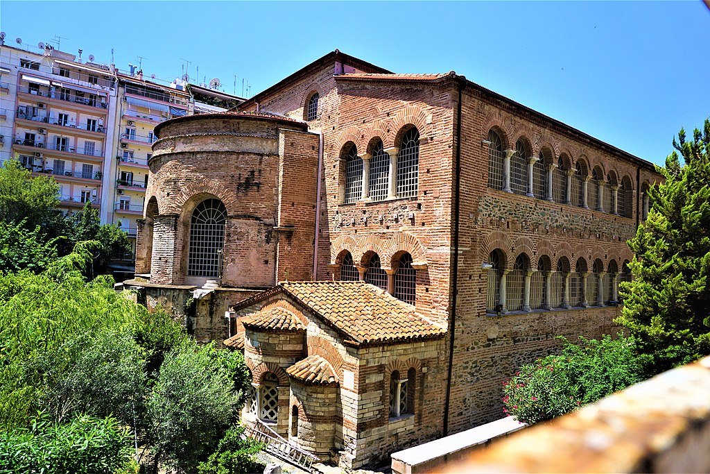 Church of the Acheiropoietos (Thessaloniki) by Joy of Museums