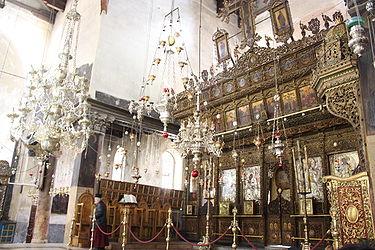 Church of the Nativity iconostasis 2010 6.jpg