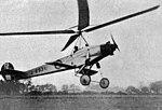 Cierva C.9 L'Aéronautique November,1928.jpg