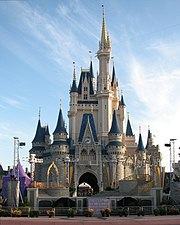 Cinderella Castle is the icon of the Magic Kingdom.