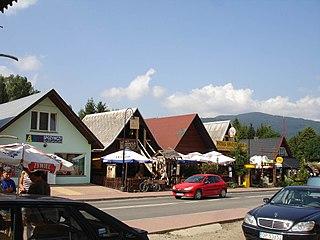 Cisna Village in Subcarpathian Voivodeship, Poland