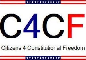Citizens for Constitutional Freedom - C4CF logo