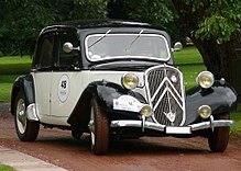 Una Citroën Traction Avant 1934-1957