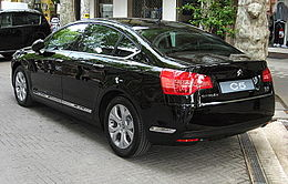 Citroen C5-Sedan-Mk2 Rear-view.JPG