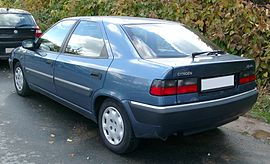 Citroen Xantia rear 20071030.jpg