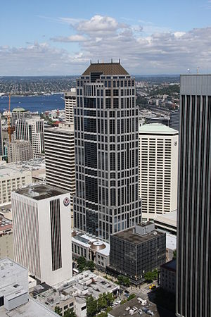 U.S. Bank Centre - City Centre viewed from 1201 Third Avenue