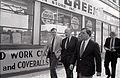 City Councilor Thomas Menino with Mayor Raymond Flynn and New York Mayor Ed Koch in Roslindale (15053348504).jpg