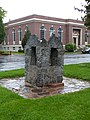 City Park stone drinking fountain and Library - Twin Falls Idaho.jpg