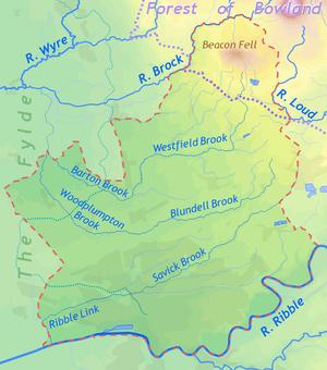 Preston England Map.City Of Preston Lancashire Wikipedia