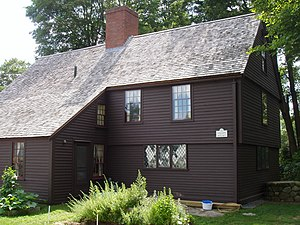 Claflin–Richards House - Front view