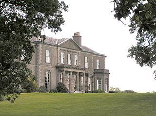 early-Georgian mansion