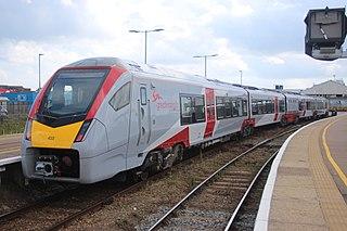 British Rail Class 755 Electro-diesel (Bi-mode) Multiple Unit Train.