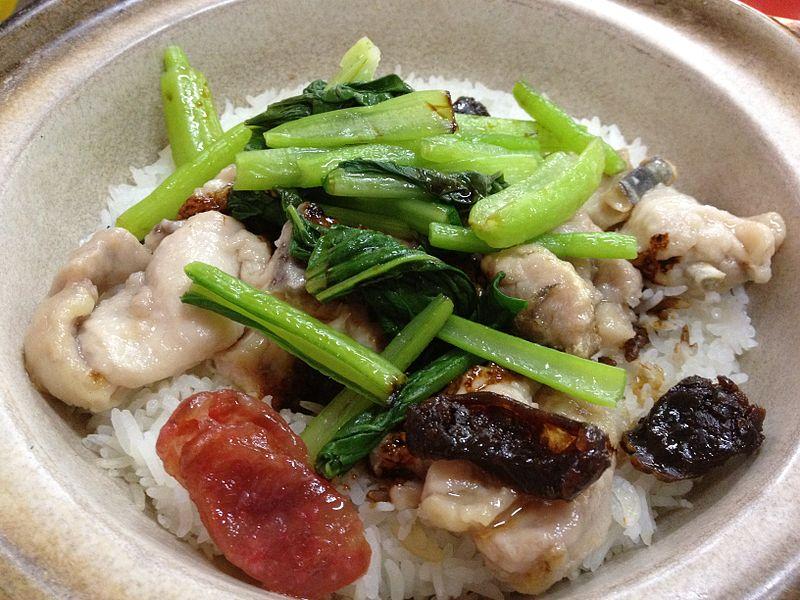 Claypot Chicken Rice, Singapore.JPG