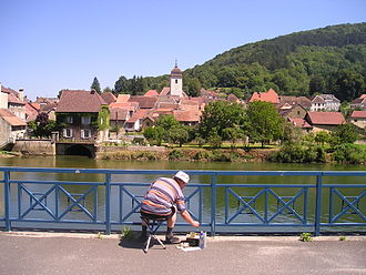 Clerval, Doubs - Image: Clerval