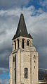 Clocktower of Abbaye de Saint-Germain-des-Prés, Paris 6e, South-East View 140207 4.jpg