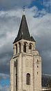 Clocktower of Abbaye de Saint-Germain-des-Prés, Paris 6e, South-East View 140207 4.jpg