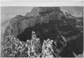 "Close-In View of Curved Cliff, ""Grand Canyon National Park,"" Arizona., 1933 - 1942 - NARA - 519898.tif"