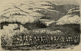 Battle of Chinhai - Image: Close of the engagement at Chin hae