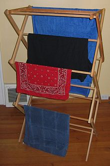5c7446303 Clothes horse - Wikipedia