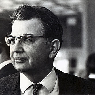 Ronald Coase - Scanned photo of Coase from UChicago Law archives
