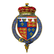 Coat of Arms of Richard of Shrewsbury, 1st Duke of York, KG.png