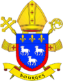 Coat of Arms of archdioces of Bourges.png