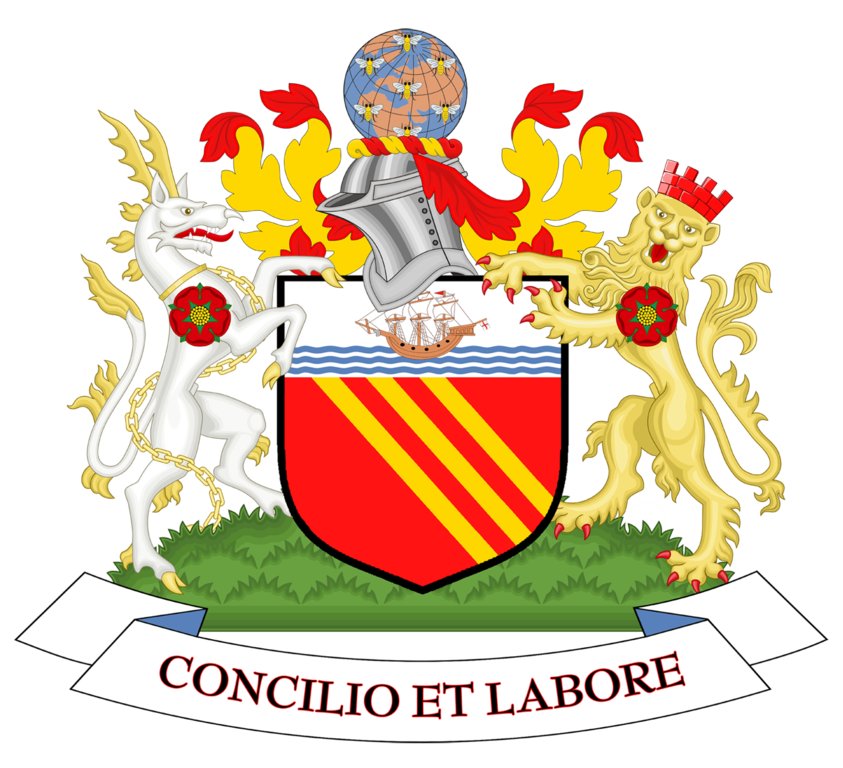 File:Coat of arms of Manchester City Council.png ...