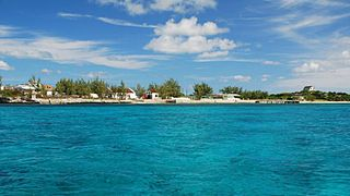 South Caicos seventh largest island in the Turks and Caicos islands archipelago