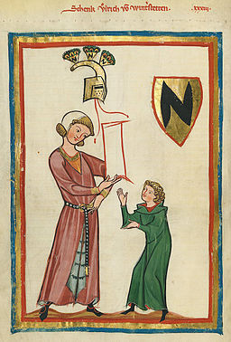 Codex Manesse Ulrich von Winterstetten