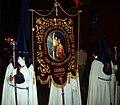 Cofradía de la Oración de Nuestro Señor en el Huerto de los Olivos y María Santísima de la Amargura, Granada, Semana Santa 2009 (7).JPG