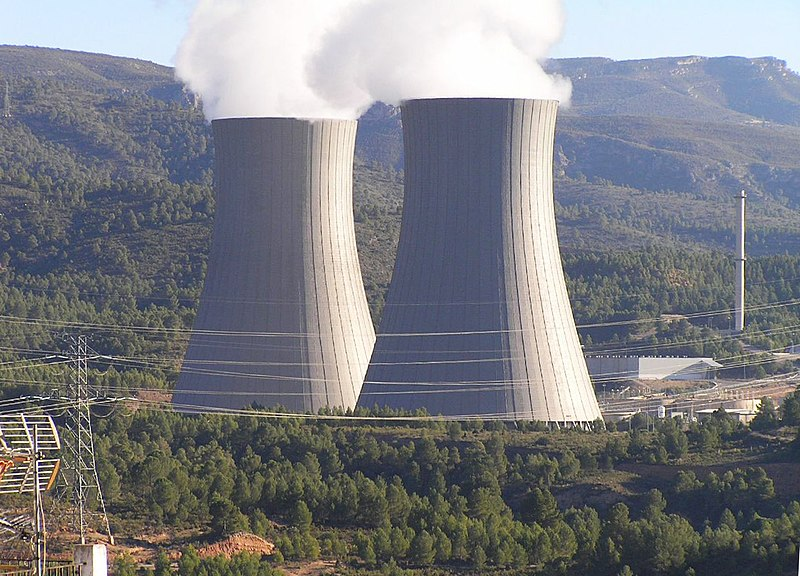 File:Cofrentes nuclear power plant cooling towers.jpg