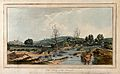 Cold spring of the Scamander. Coloured etching by T. Medland Wellcome V0020097.jpg