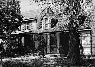 Coleman House (Lewes, Delaware) - Coleman House, HABS Photo, April 1936