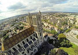Die Stiftskirche Notre-Dame de Mantes