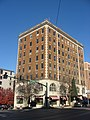 College Avenue, North, 201-205, Graham Hotel Building, Bloomington Courthouse Square HD.jpg