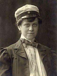 Elsa Collin Swedish theatre critic, poet and actress