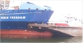 Collision of the bulk carrier Ocean Freedom and the Kirby 28044, a barge - 2015-10-29.png