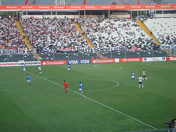 Colo-Colo vs Deportivo Italia febrero 2010