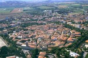 Grosseto - Aerial view of Grosseto