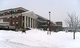 Concord High School (New Hampshire) - Image: Concord NH High School