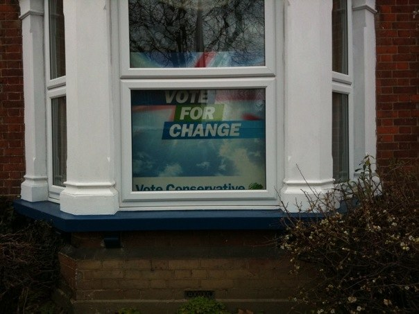 Conservative Party posters