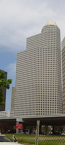 Continental Center I, la sede di Continental Airlines, Houston