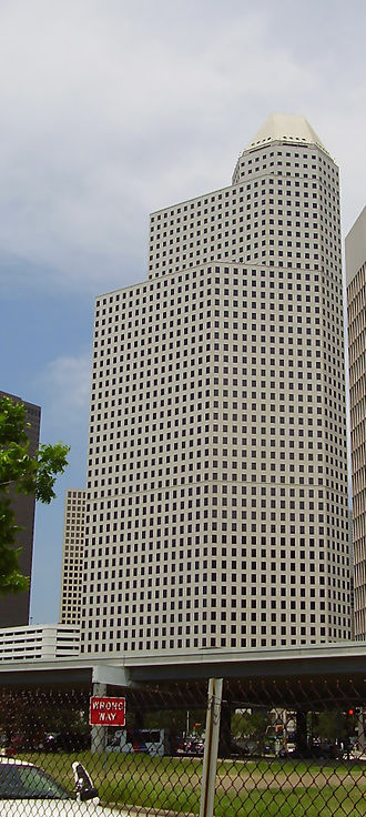 ExpressJet - Continental Center I, Continental Airlines's  headquarters in Downtown Houston, formerly housed ExpressJet's headquarters