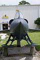Convair YF2Y-1 Sea Dart 135765 headon tall FLAirMuse 29Aug09 (14619697683).jpg