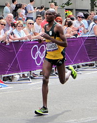 Coolboy Ngamole (South Africa) - London 2012 Mens Marathon.jpg