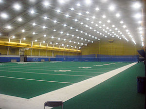 Cost Sports Center - Indoor football field inside the Cost Center