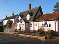 Cottages, High Street, Rattlesden - geograph.org.uk - 649504.jpg